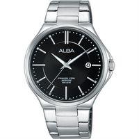 ALBA 玩轉 東京石英腕錶 ^#45 黑 ^#47 40mm VJ42 ^#45 X18