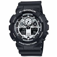 G ^#45 SHOCK 金屬感Man酷炫重型機械 錶 GA ^#45 100BW ^#4