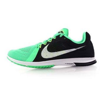 【NIKE】ZOOM STREAK LT 3 男路跑訓練鞋-慢跑 路跑 健身 綠黑白