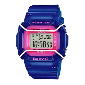 CASIO 卡西歐Baby-G 少女時代電子錶-藍 / BGD-501FS-2