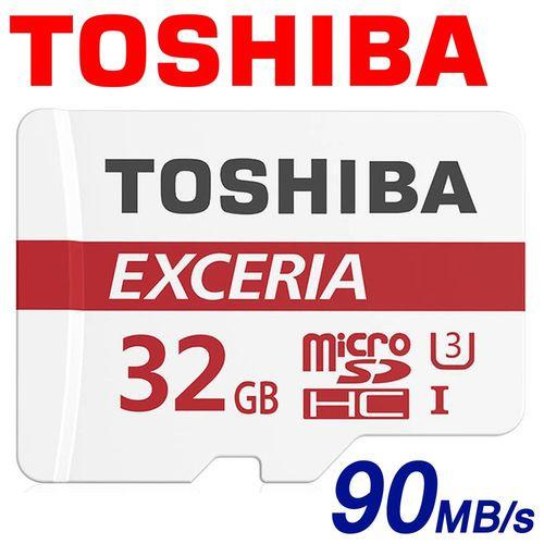 TOSHIBA 東芝 32GB 90MB/s EXCERIA microSDHC TF UHS-I U3 記憶卡 M302