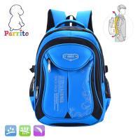 Perrito 貝瑞童~核心護脊~兒童書包 #40 藍黑色 #41