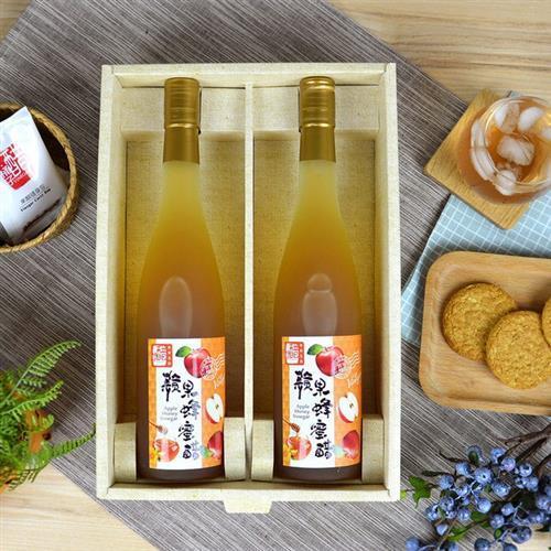 【上班這黨事推薦】醋桶子健康果醋2入禮盒組(蘋果蜂蜜醋)