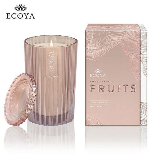 澳洲ECOYA 精緻香氛蠟燭粉紅香檳 345g