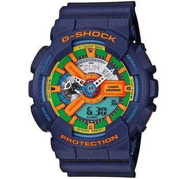 G-SHOCK 新潮流時尚視覺層次概念錶 GA-110FC-2A