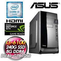 |華碩平台|玄武之力 I3 ^#45 6100 240G SSD 8G ^#47 DDR4