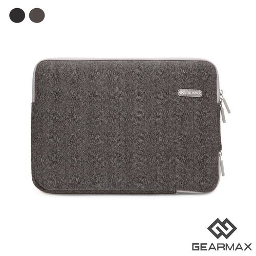 Gearmax MacBook專用 13.3吋 英倫人字紋毛呢避震袋 筆電包 電腦包 (DH137)