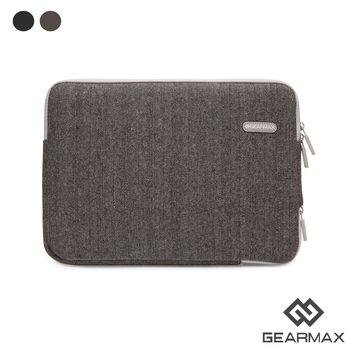 Gearmax 15.6吋 英倫人字紋毛呢避震袋 筆電包 電腦包 (DH139)