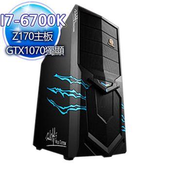 |華碩平台|女神伊塔 I7-6700K四核 240G SSD/GTX1070獨顯桌上型電腦