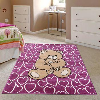 【Ambience】比利時Luna 兒童遊戲地毯--小熊(100x150cm)