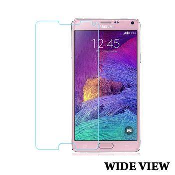 WIDE VIEW 9H鋼化玻璃保護貼 三星 Note4(SG-NT4H)