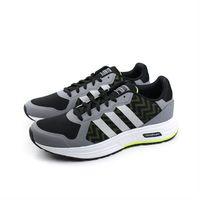 adidas 跑鞋 男鞋 灰色 no334
