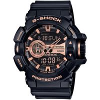 G ^#45 SHOCK 超 大錶徑GA ^#45 400系列腕錶 ^#45 玫瑰金 ^#