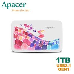 Apacer宇瞻 AC233 1TB 克里斯多聯名款行動硬碟