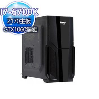 華碩平台 烙印煞神 I7-6700K四核 Intel 535 SSD/GTX1060獨顯桌上型電腦