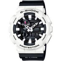 G ^#45 SHOCK G ^#45 LIDE系列衝浪 專屬腕錶 ^#45 白x黑 ^#