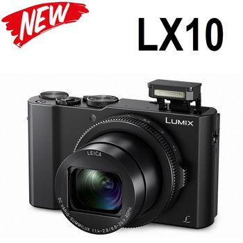 {送32G+電}Panasonic LUMIX DMC-LX10 (平輸)