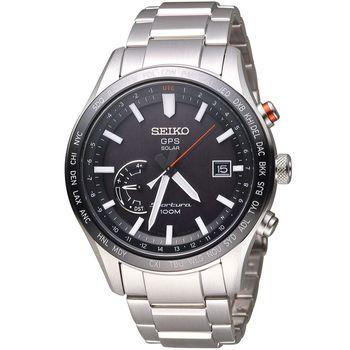 SEIKO 精工 Sportura 太陽能GPS定位腕錶 8X22-0AC0D SSF003J1