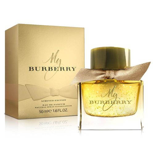 Burberry My Burberry FESTIVE 限量版淡香精(50ml)-送品牌身體乳