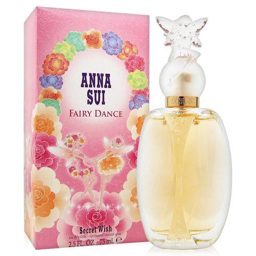ANNA SUI安娜蘇 漫舞精靈女性淡香水75ml+隨機針管香水一份