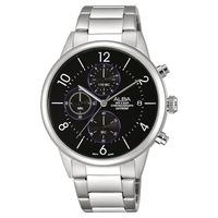 ALBA Prestige 街頭酷 計時腕錶 ^#45 黑 ^#47 40mm VD57