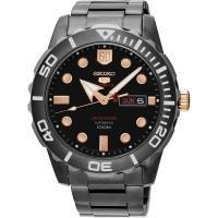 SEIKO 精工 5號盾牌60週年限定版日曆機械錶 #45 黑 #47 45mm 4R36