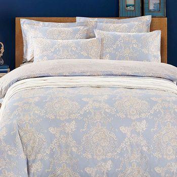 【FOCA-嫻雅】雙人-三件式全舖棉兩用被床包組