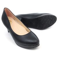 ~ cher美鞋~ 素雅高跟美鞋OL最愛款~黑色~MKK ^#45 C