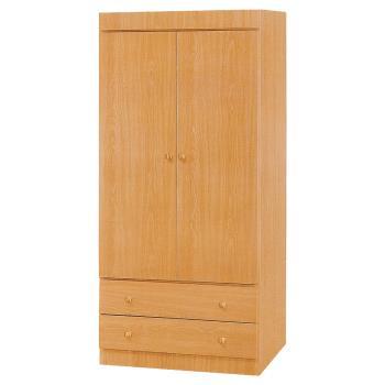 Bernice-納特2.7尺二門二抽衣櫃