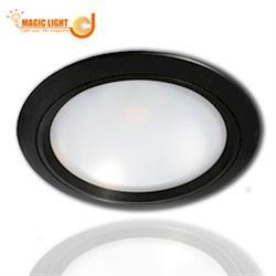 【光的魔法師Magic Light】15公分 光的魔法師 LED 崁燈 M.I.T 6吋崁燈 黑色外殼 12W 可與特殊裝潢需求做搭配