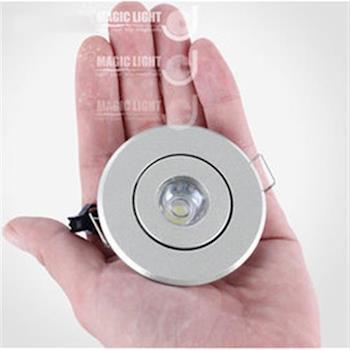 【光的魔法師 Magic Light】45-50mm LED酒櫃燈天花射燈櫃燈展櫃燈LED小射燈 迷你3W 開孔