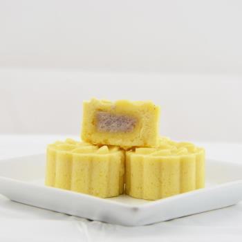 【許家銘餅舖】紫金蘇-芋頭綠豆冰糕6盒(8入/180g±5%/盒)