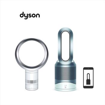 【dyson】Dyson HP02 (白色款) + AM06 (白)