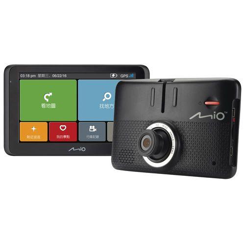 Mio MiVue Drive 50 五合一 五吋行車記錄導航機 《支援胎壓偵測器、後鏡頭內含16G》