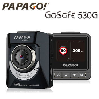 PAPAGO! GoSafe 530G GPS軌跡+測速預警行車記錄器