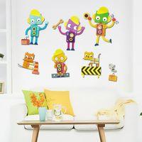 ~Wally Fun~3D立體可愛壁貼 ^#40 機器人總動員ZUP1015 ^#41