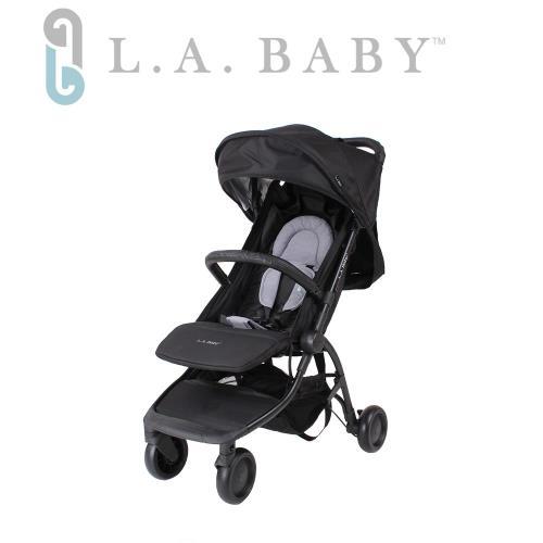 【美國 L.A. Baby】 旅行摺疊嬰兒手推車-四色