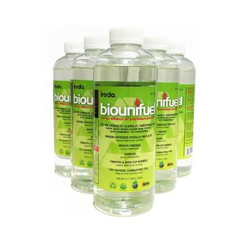 【Biounifuel】BF-700 氣氛情境燈專用安全燃料(六瓶裝)