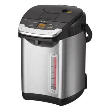【TIGER虎牌】無蒸氣雙模式出水VE節能3.0L真空熱水瓶 PIG-A30R