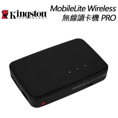 KingSton 金士頓 MobileLite Wireless Pro 無線讀卡機 - 公司貨 ( 行動電源  無線路由 MLWG3/64 )