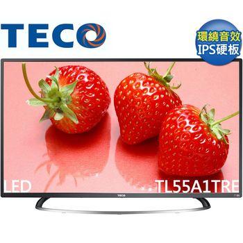 送好禮+安裝★TECO東元 55吋 FHD低藍光硬板液晶 TL55A1TRE