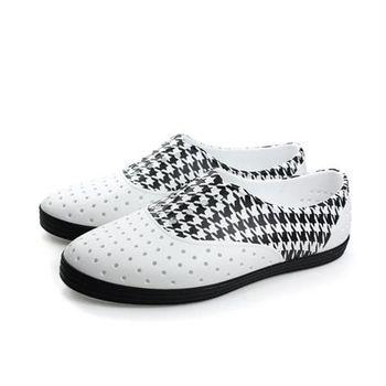 native JERICHO 洞洞鞋 白黑色 女鞋 no532