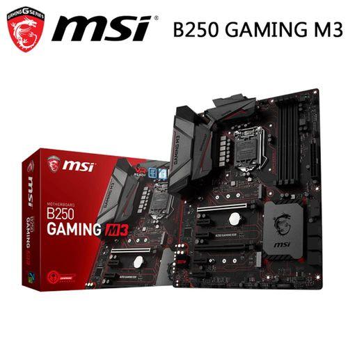 msi微星 B250 GAMING M3 主機板