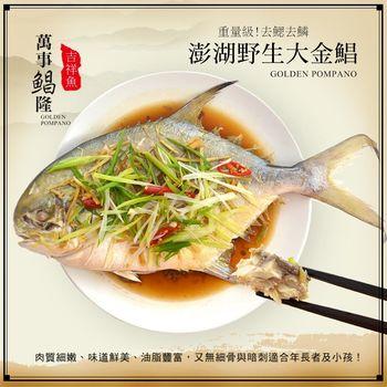 【熊先生漁舖】萬事鯧隆-澎湖野生大鯧魚(900g/尾)
