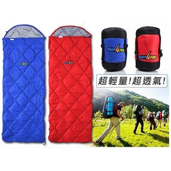 四季羽絨信封式睡袋, 超輕量600G!