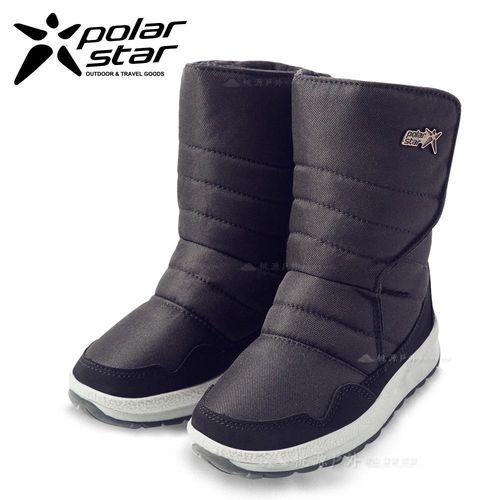 PolarStar 兒童 防潑水 保暖雪鞋│雪靴『黑』268533