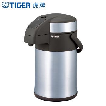 【TIGER 虎牌】3.0L氣壓式不鏽鋼保溫瓶 (MAA-A302)