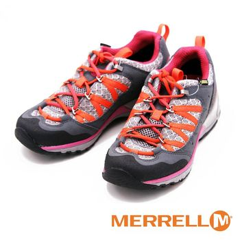 MERRELL GORE-TEX 登山鞋輕量防水健行鞋黃金大底運動鞋 女鞋-灰