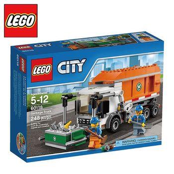 樂高【LEGO】City系列 L60118 垃圾車