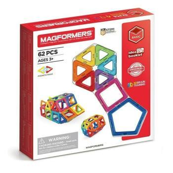 【MAGFORMERS】磁性建構片磁性建構片(62pcs)